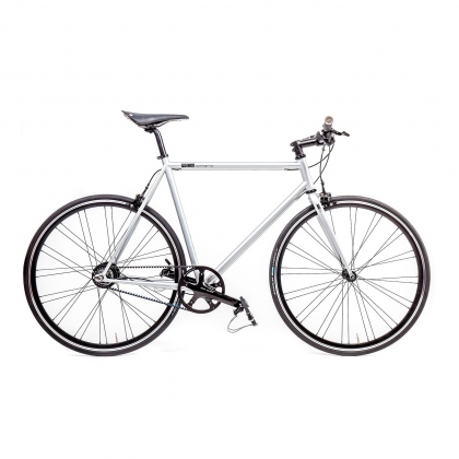 Mika Amaro Rocket Silver 8 speed Urban Bike