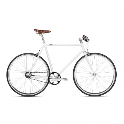 Mika Amaro Pearl White 8 speed Urban Bike