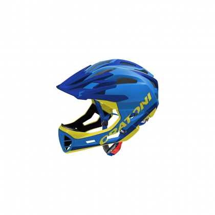 Шлем C-Maniac Limited Edition Blue-Yellow